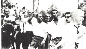 RLG with MLKJr & other Marchers